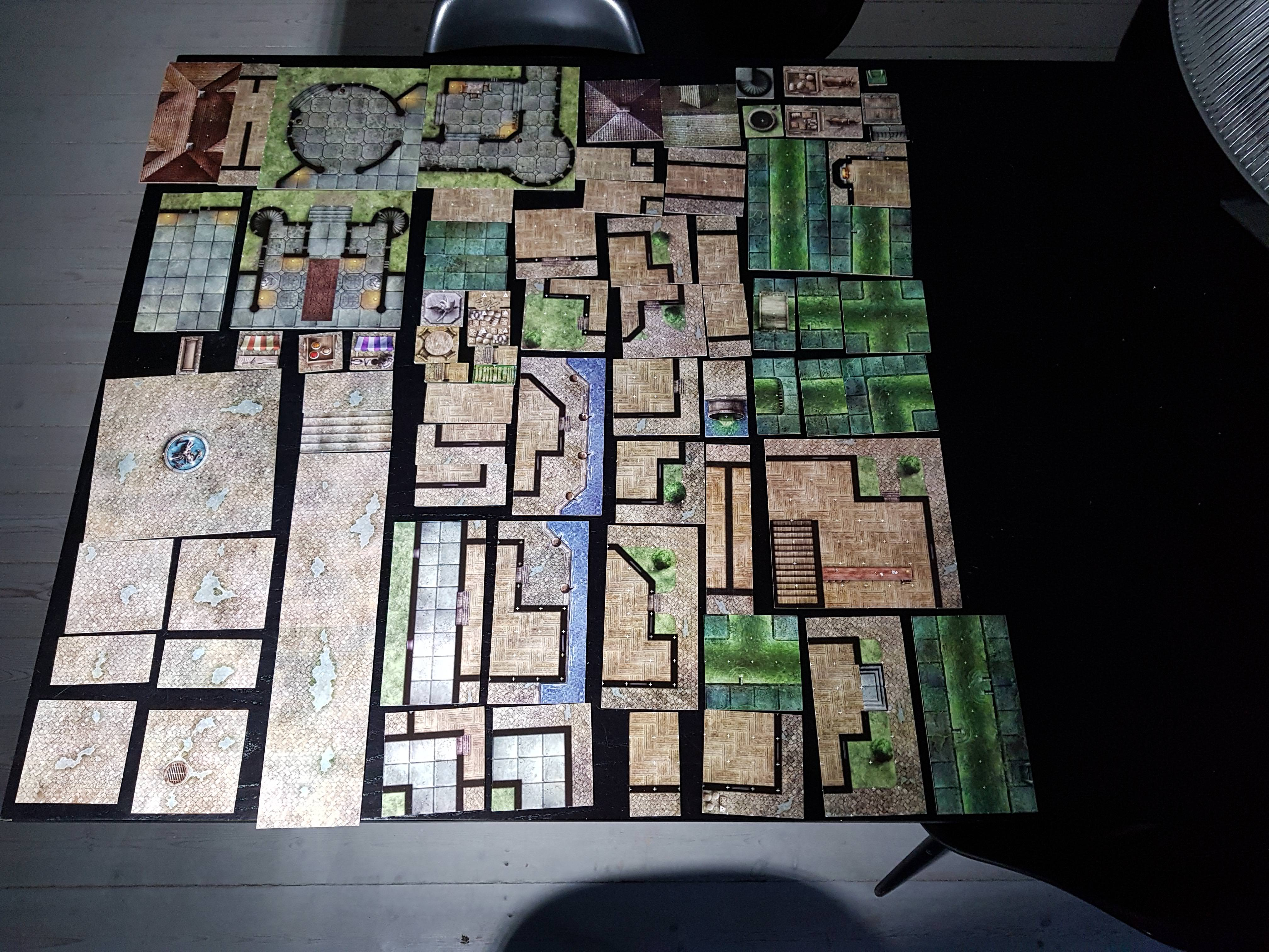 D&D Dungeon Tiles Reincarnated | Checkpoint - Club si